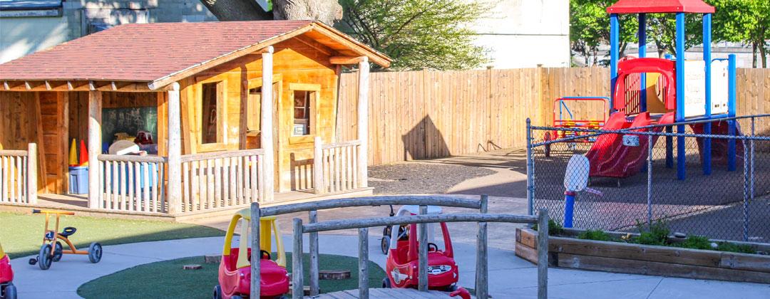 Sldier Image of Playground