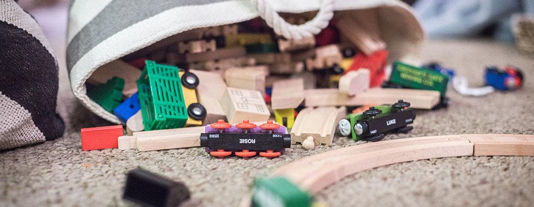 Slider Image of Toy Trains