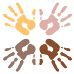 Inclusion Icon (4 hands)
